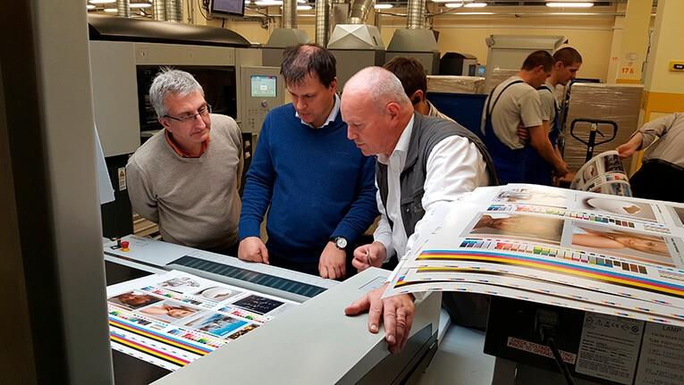 Сертификационная печать в типографии Промис