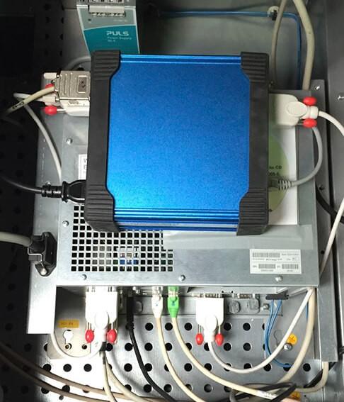 Блок управления «систем с обратной связью» (close-loop systems) от компании Rutherford