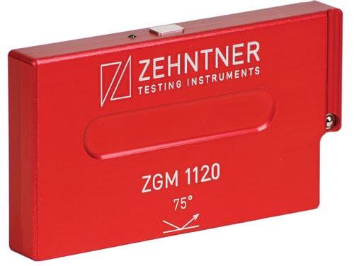 Прибор для измерения глянца — модель ZGM 1120 компании Zehntner, работающая по стандарту Tappi T480 (75°)